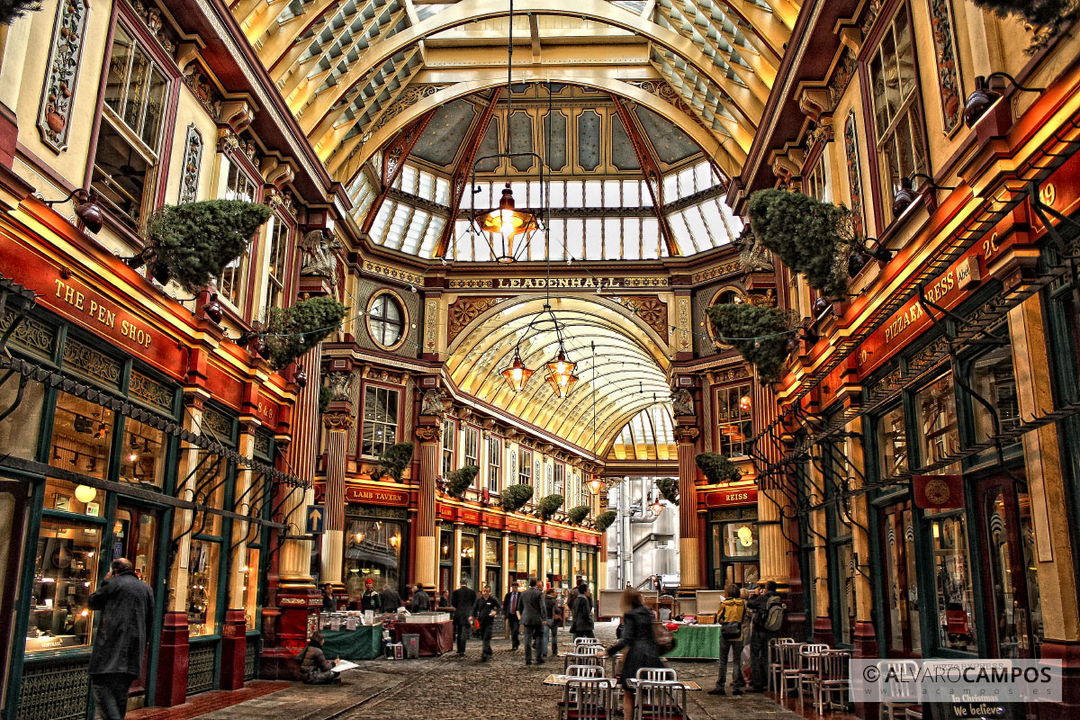 Mercado de Leadenhall en Londres