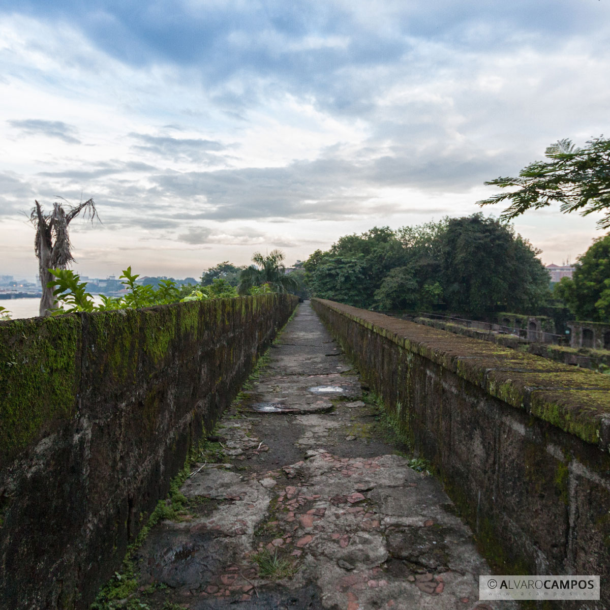 Intramuros en Manila (Filipinas)