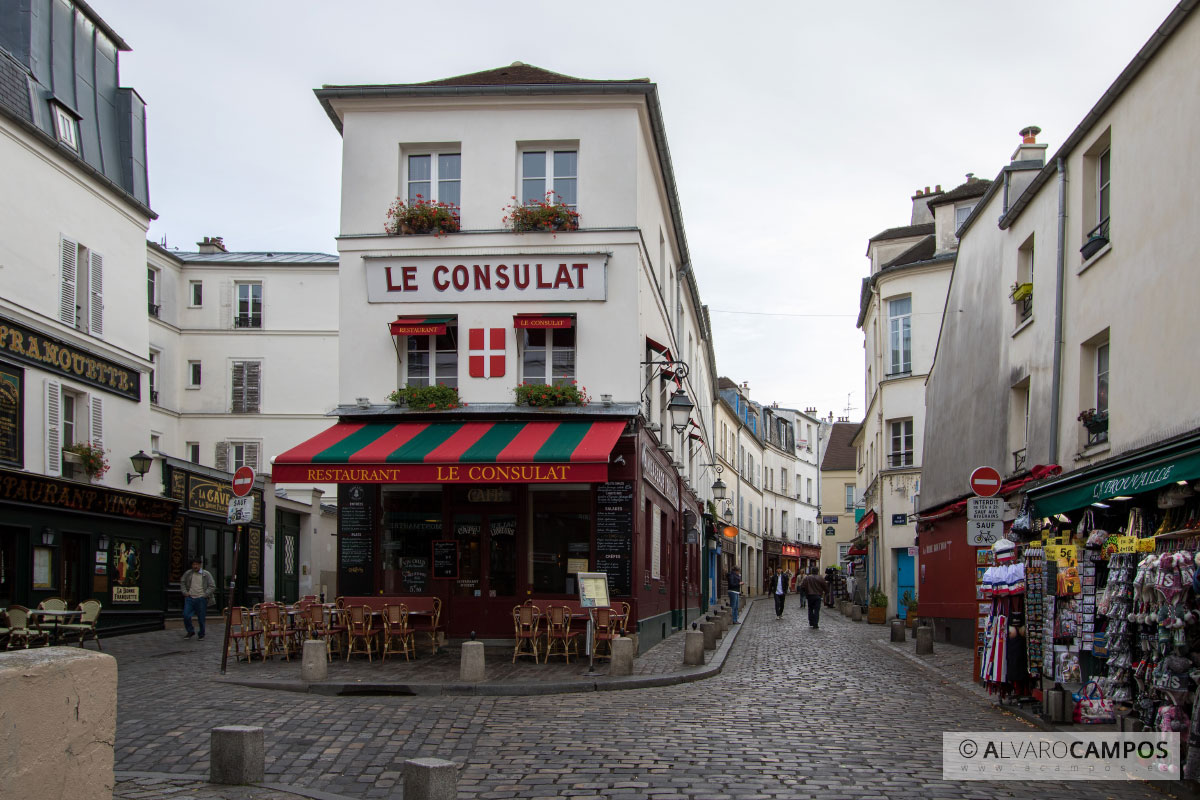 Le Consulat in Montmartre, Paris